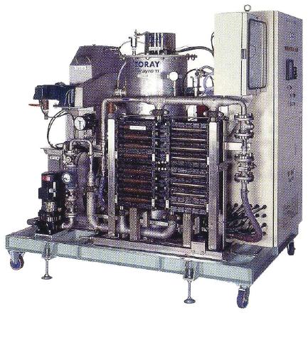 防災拠点小規模造水に最適のMFろ過器