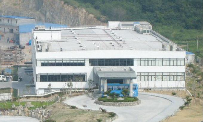 A factory of Tsuneishi shipbuilding  company in China